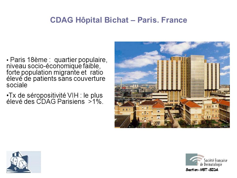 CDAG Hôpital Bichat – Paris. France