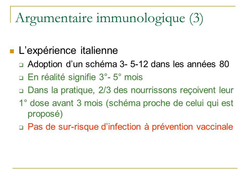 Argumentaire immunologique (3)