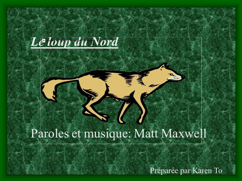 Paroles et musique: Matt Maxwell