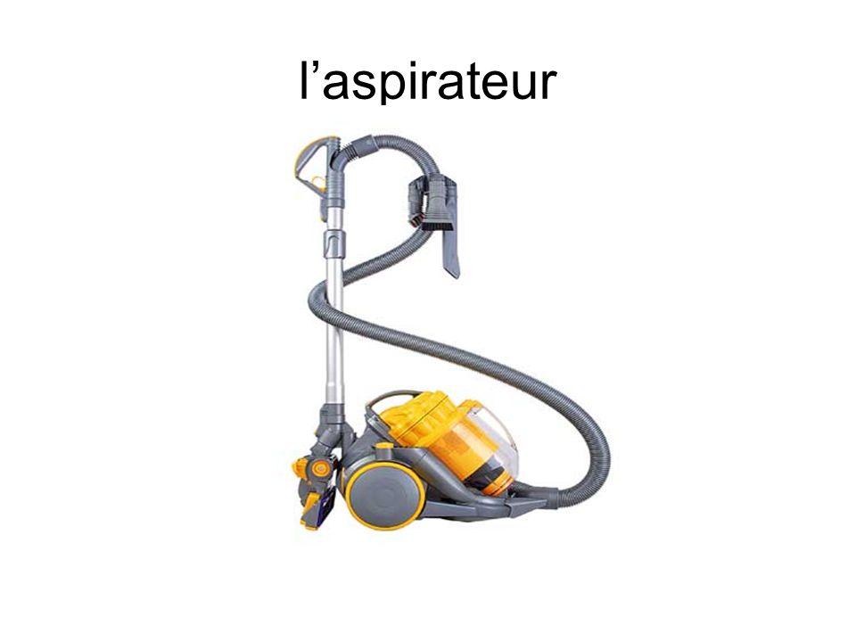 l'aspirateur