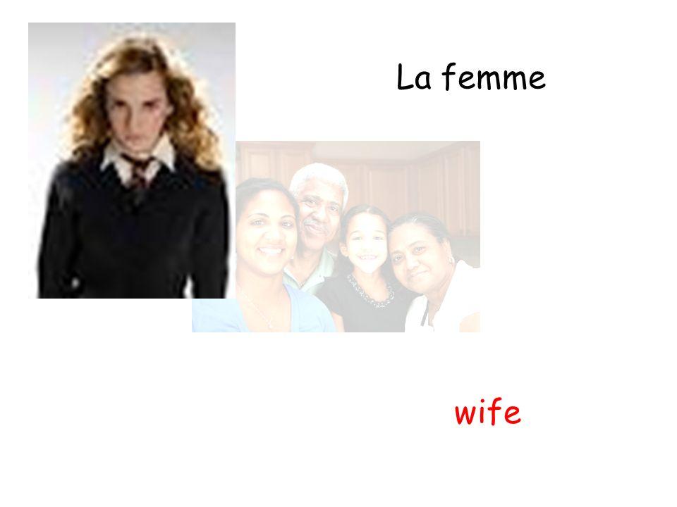 La femme wife