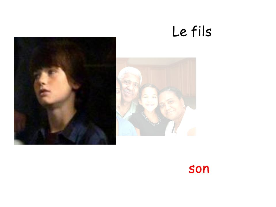 Le fils son