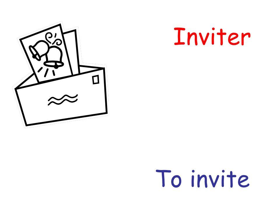 Inviter To invite