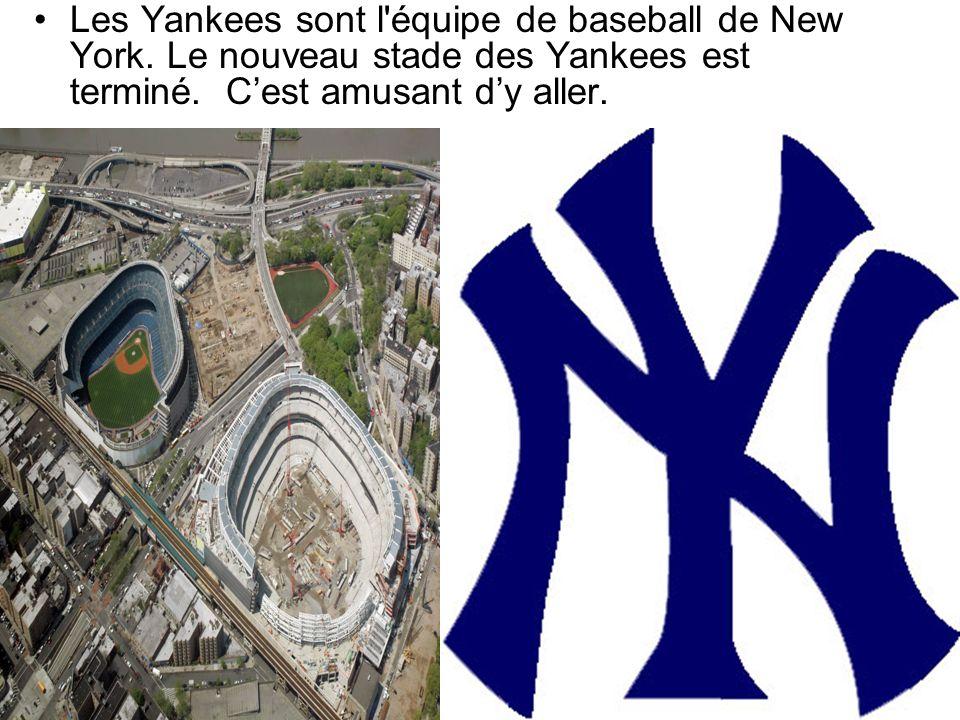 Les Yankees sont l équipe de baseball de New York