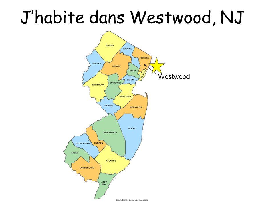 J'habite dans Westwood, NJ