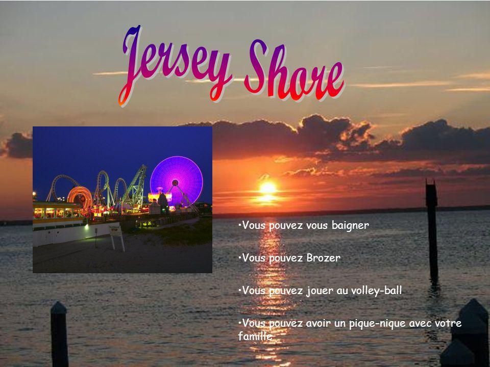 Jersey Shore Vous pouvez vous baigner Vous pouvez Brozer
