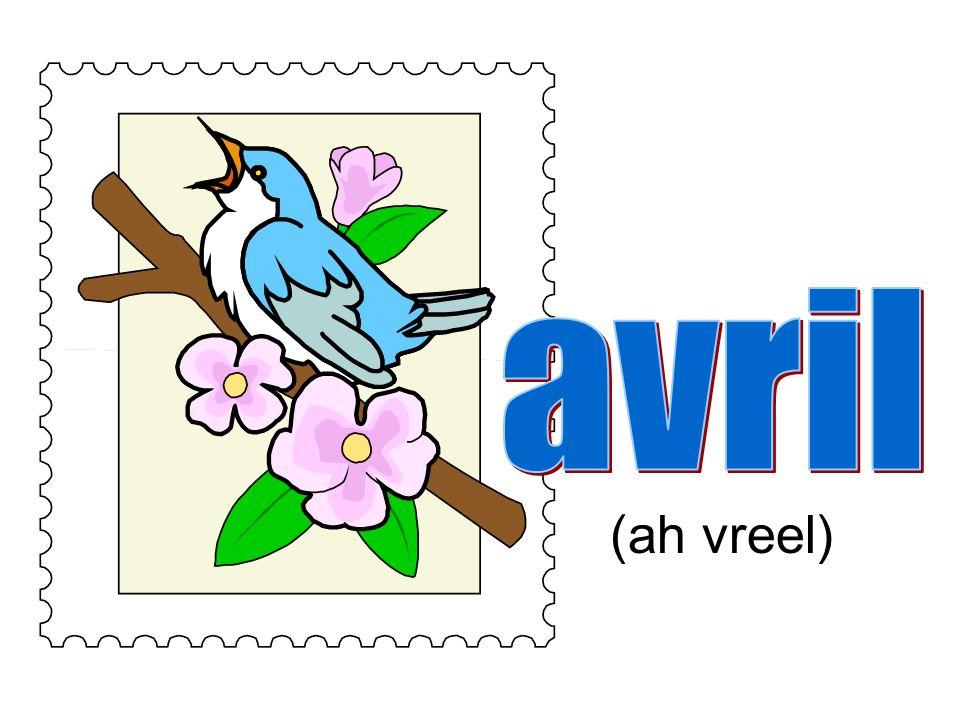 avril (ah vreel)