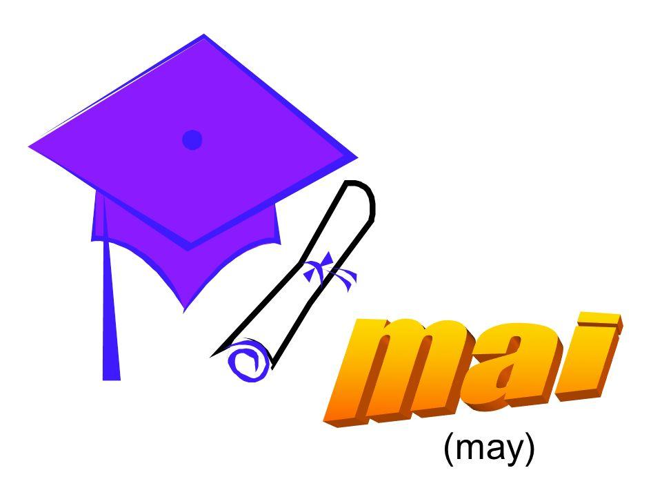 mai (may)