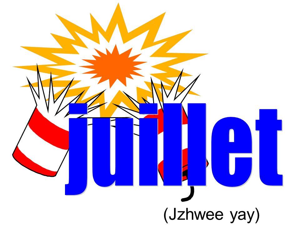juillet (Jzhwee yay)
