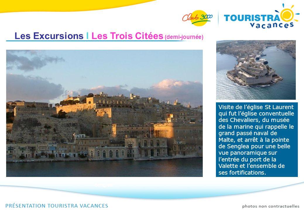 Les Excursions I Les Trois Citées (demi-journée)