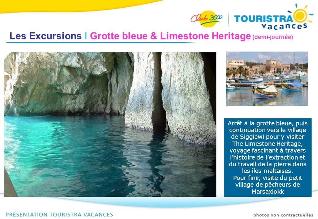 Les Excursions I Grotte bleue & Limestone Heritage (demi-journée)