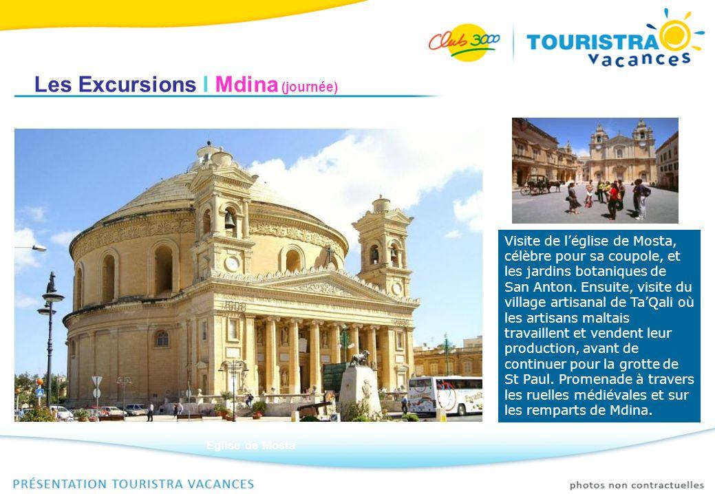 Les Excursions I Mdina (journée)
