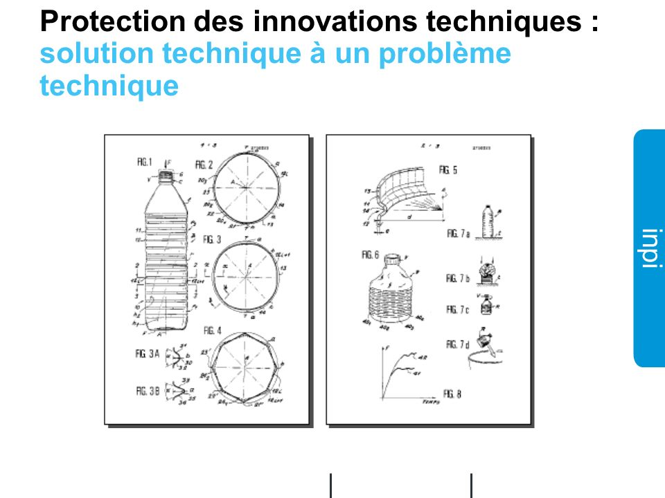 02/12/2008 Protection des innovations techniques : solution technique à un problème technique.