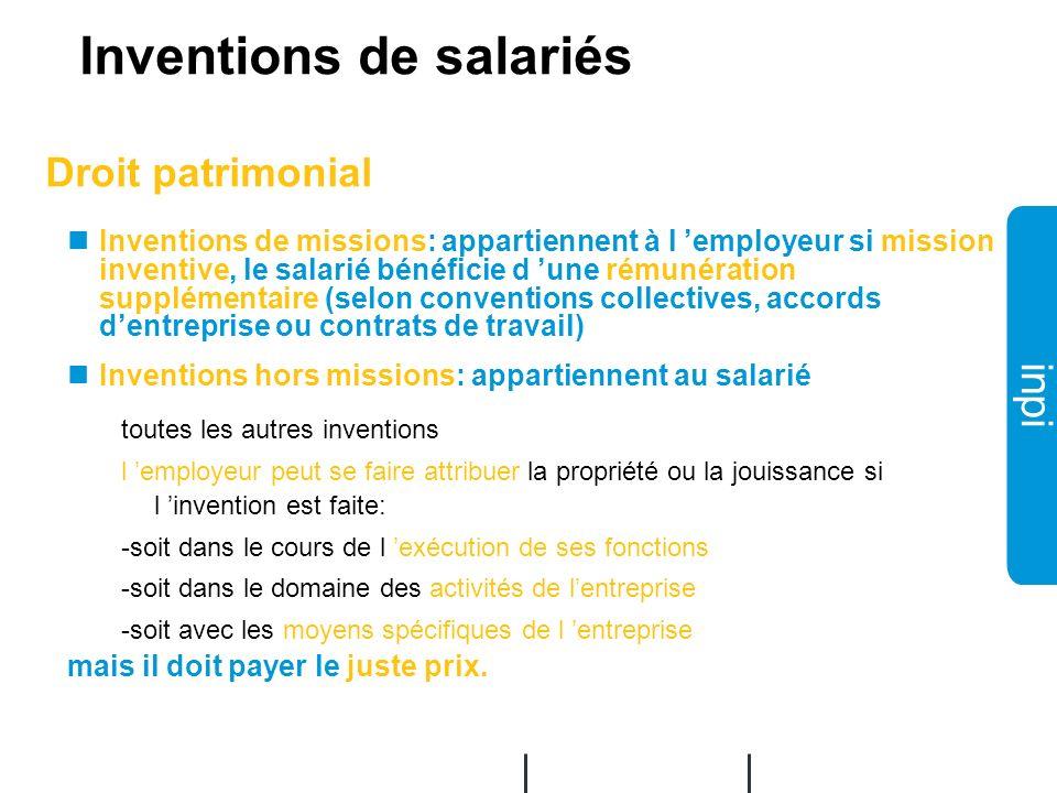 Inventions de salariés
