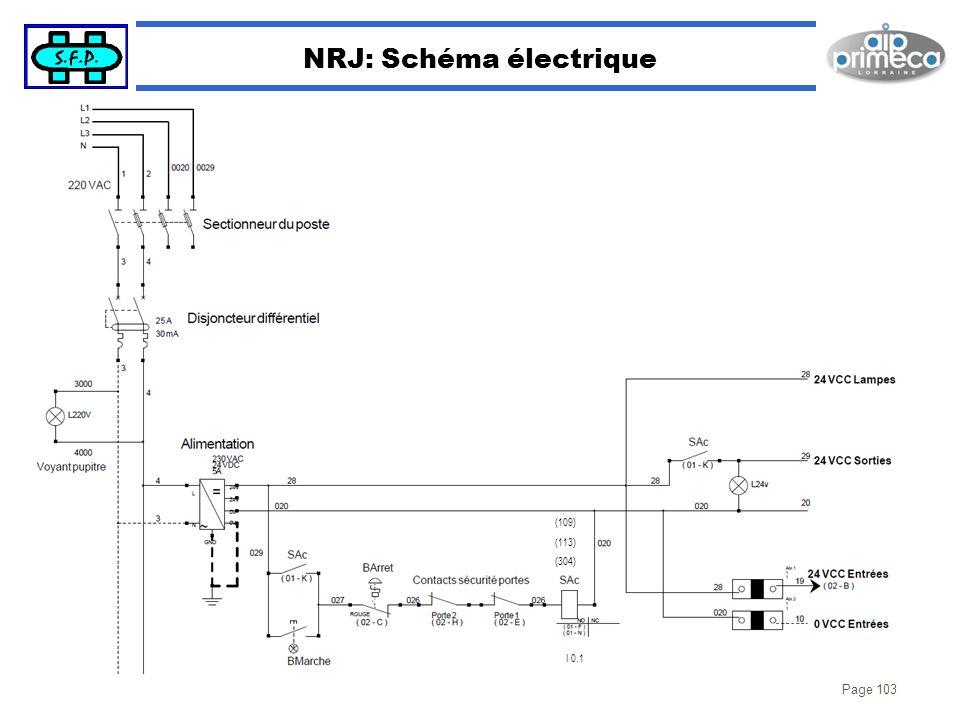 NRJ: Schéma électrique