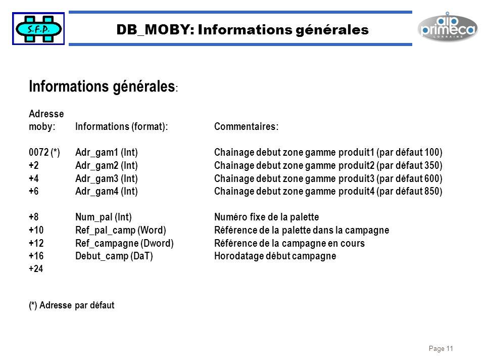 DB_MOBY: Informations générales