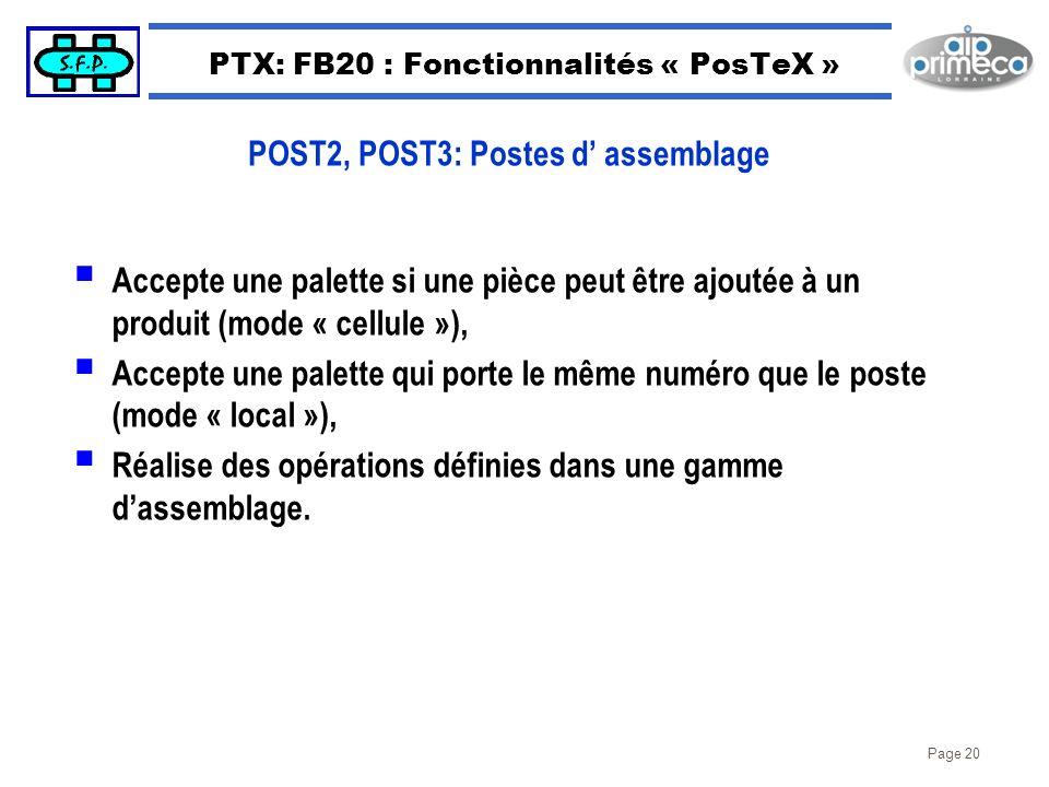 PTX: FB20 : Fonctionnalités « PosTeX »