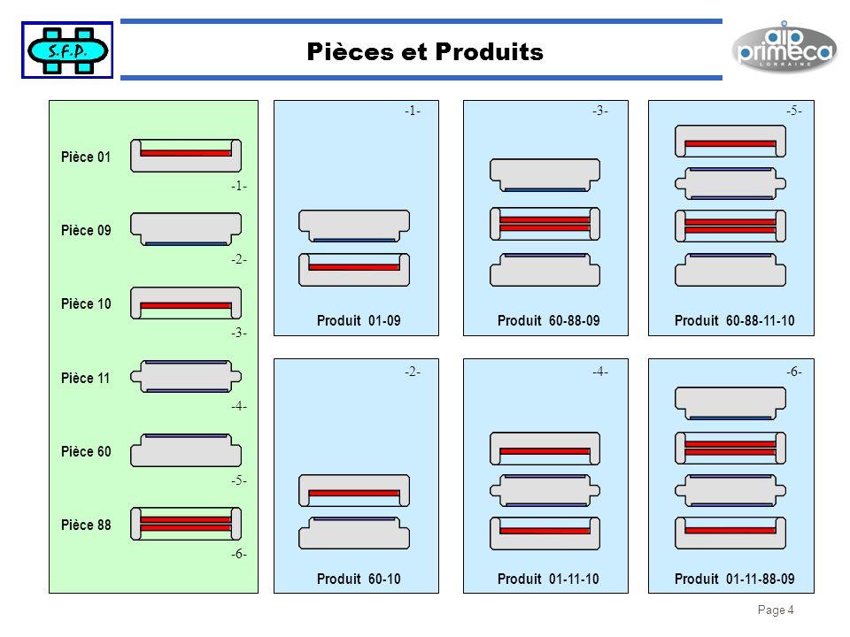 Pièces et Produits Produit 01-09 Produit 60-88-09 Produit 60-88-11-10