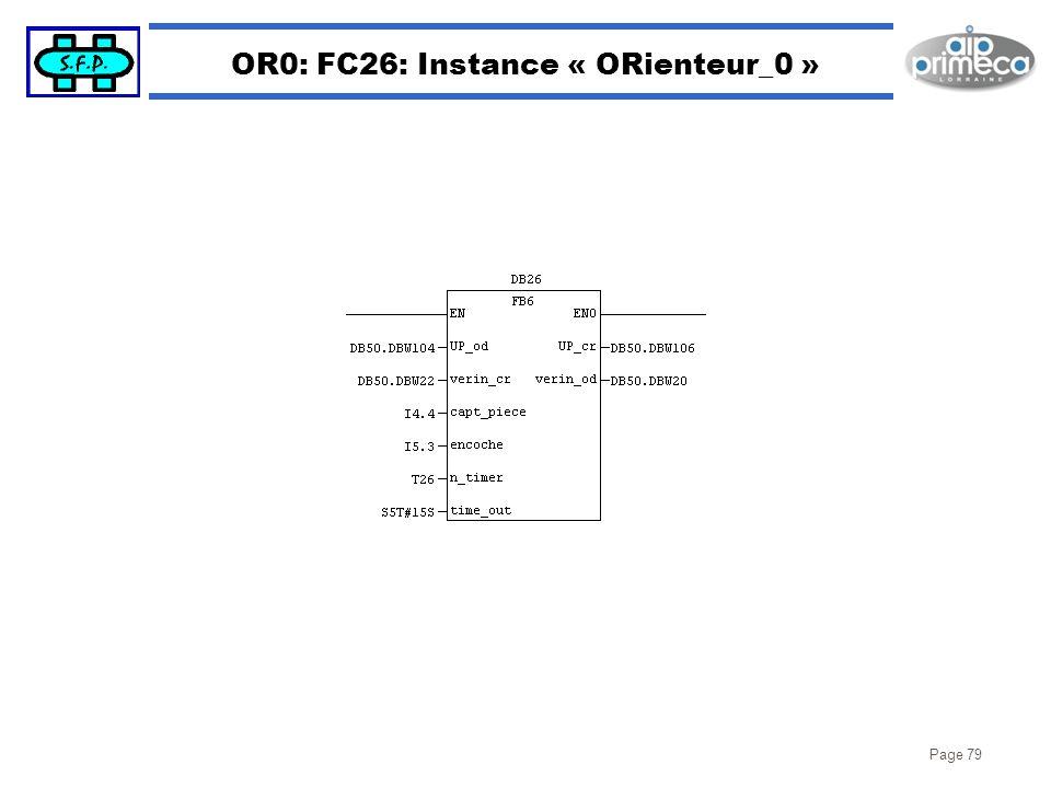 OR0: FC26: Instance « ORienteur_0 »