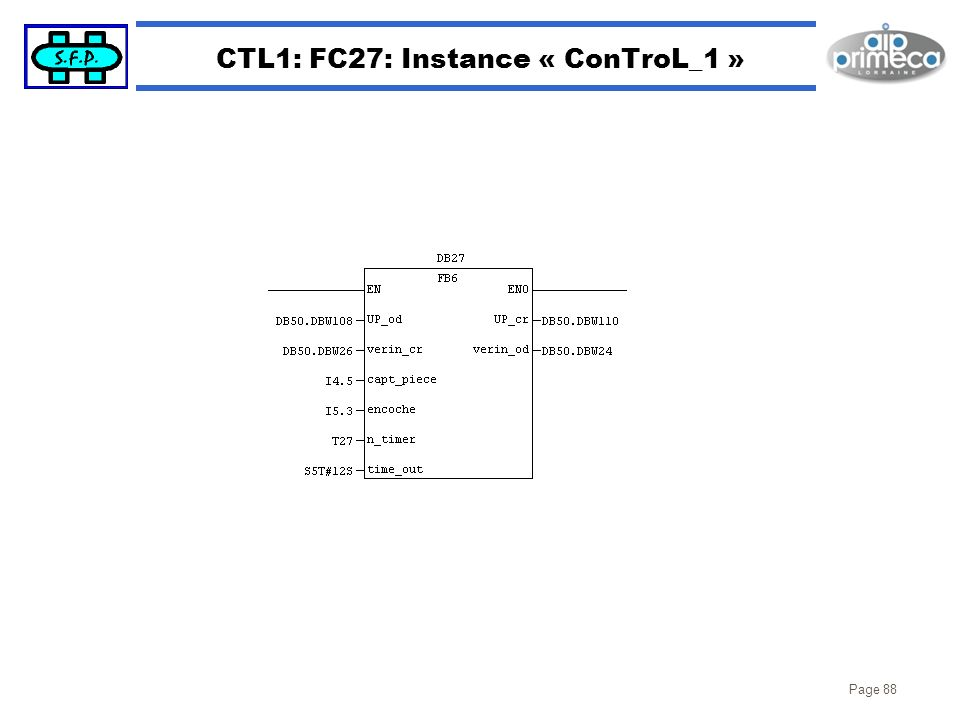 CTL1: FC27: Instance « ConTroL_1 »