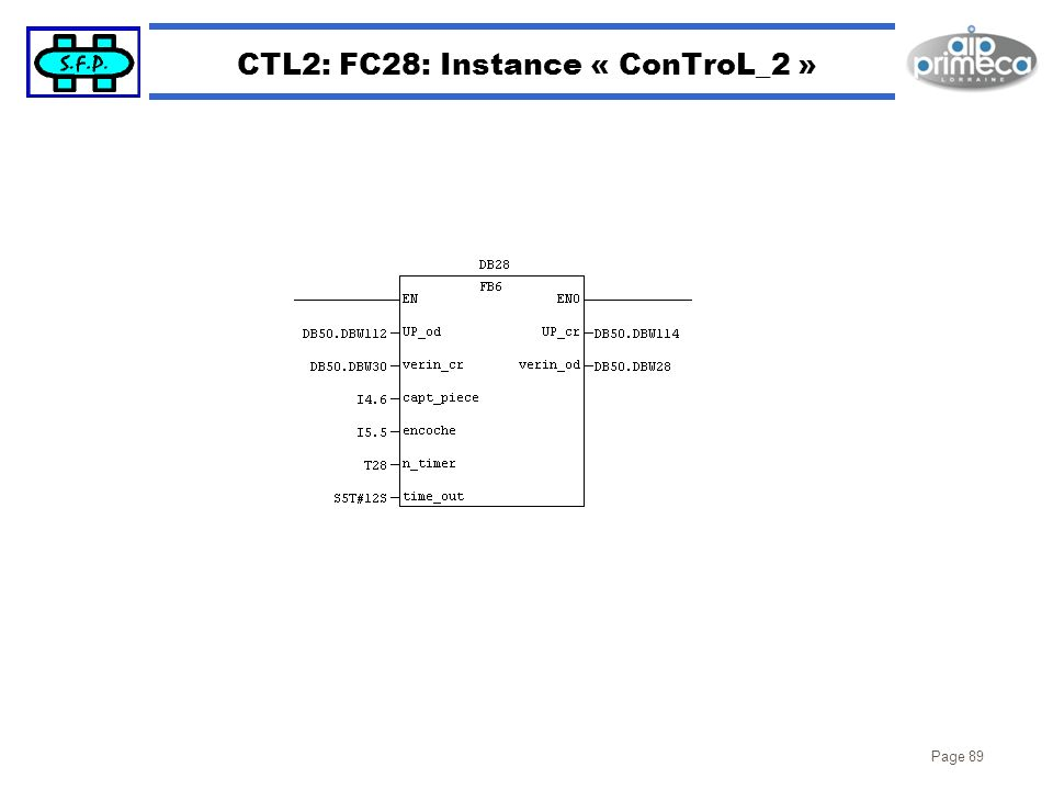 CTL2: FC28: Instance « ConTroL_2 »