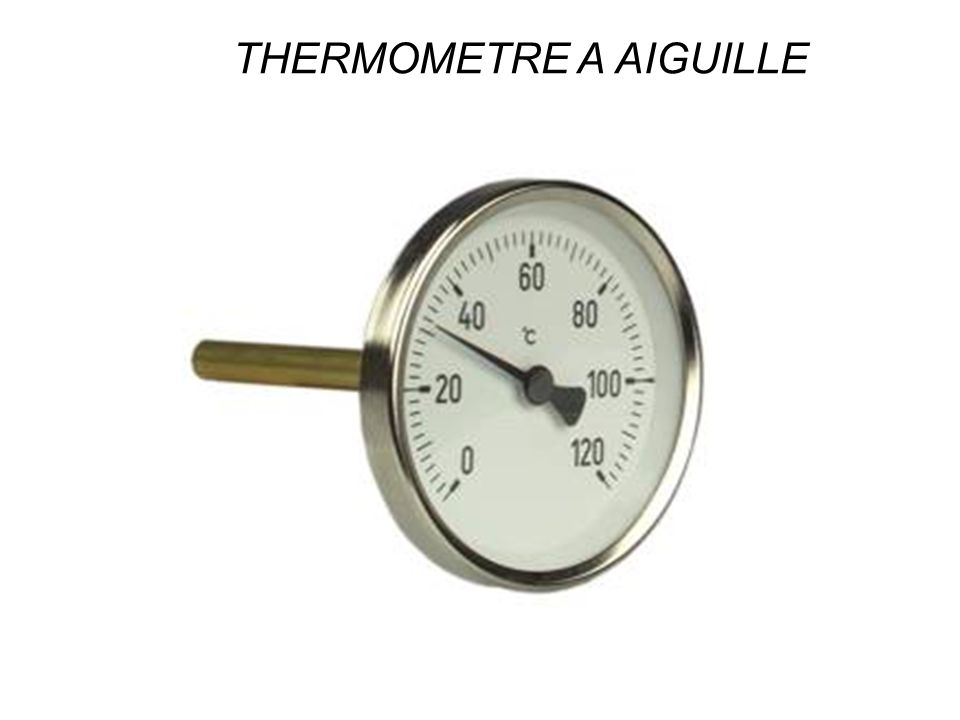 THERMOMETRE A AIGUILLE