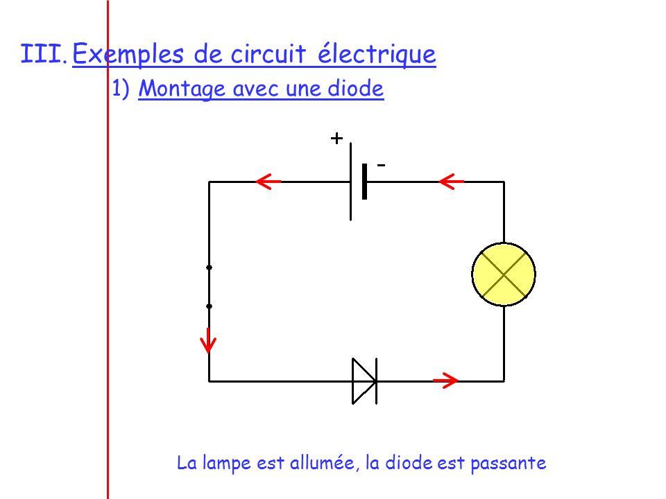 Exemples de circuit électrique