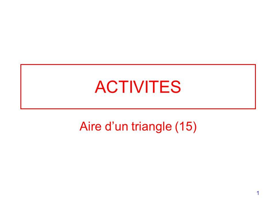 ACTIVITES Aire d'un triangle (15)