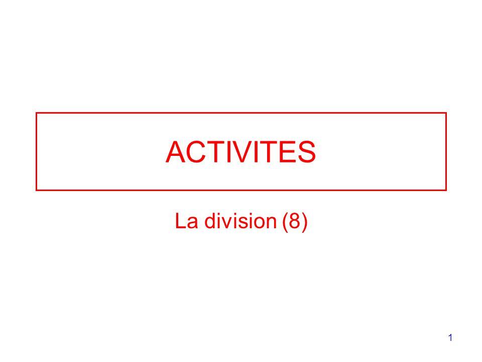 ACTIVITES La division (8)