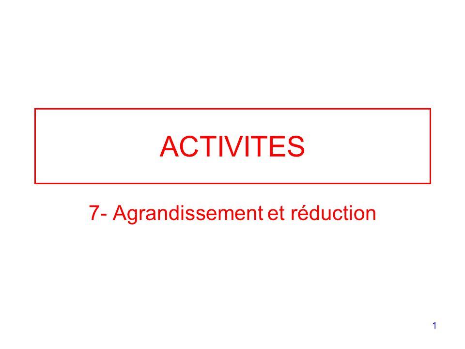 7- Agrandissement et réduction