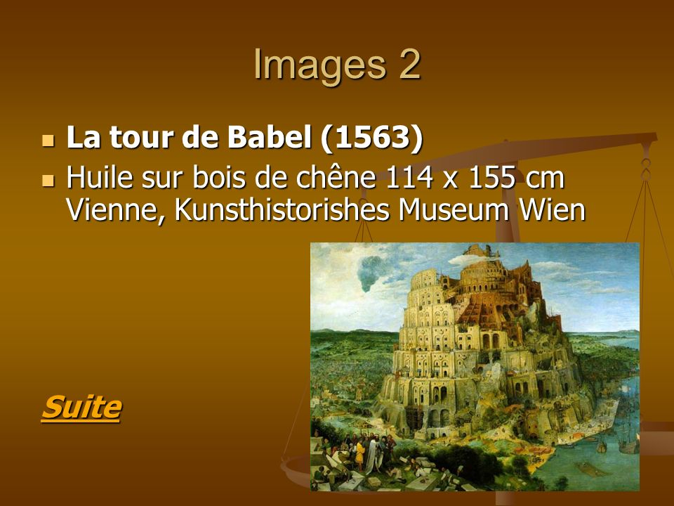 Images 2 La tour de Babel (1563)