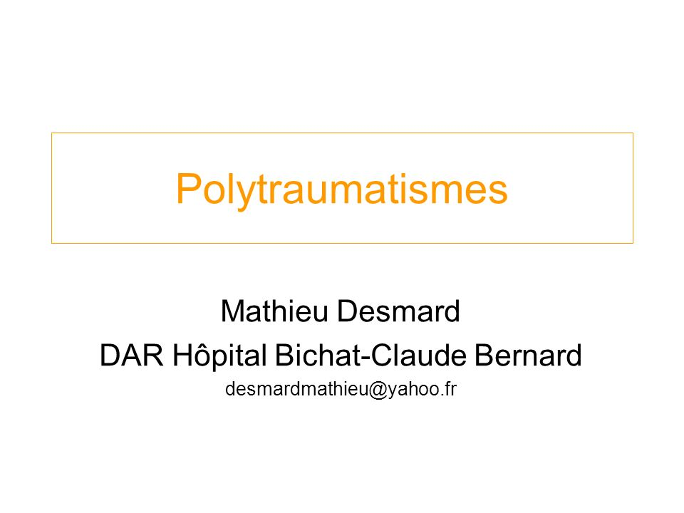 DAR Hôpital Bichat-Claude Bernard