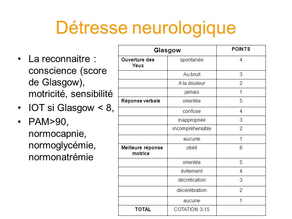 Détresse neurologique