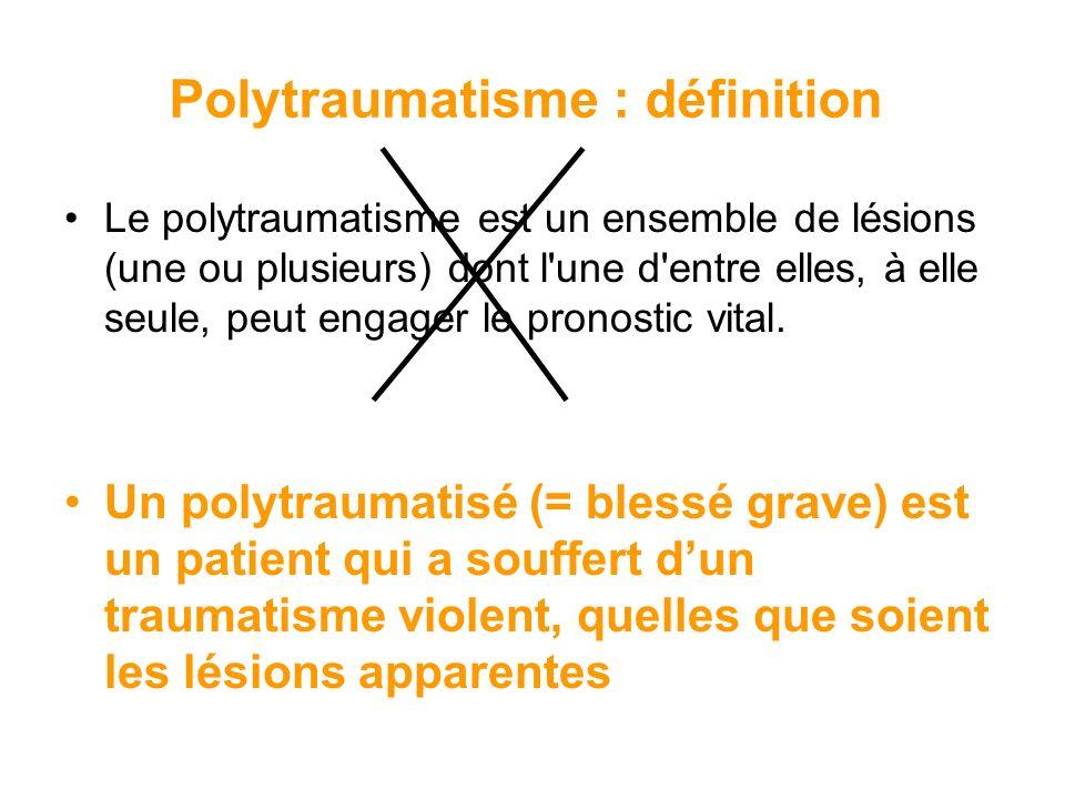 Polytraumatisme : définition