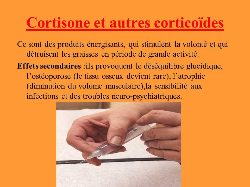Cortisone et autres corticoïdes