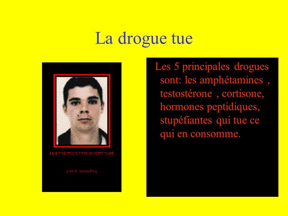 La drogue tue
