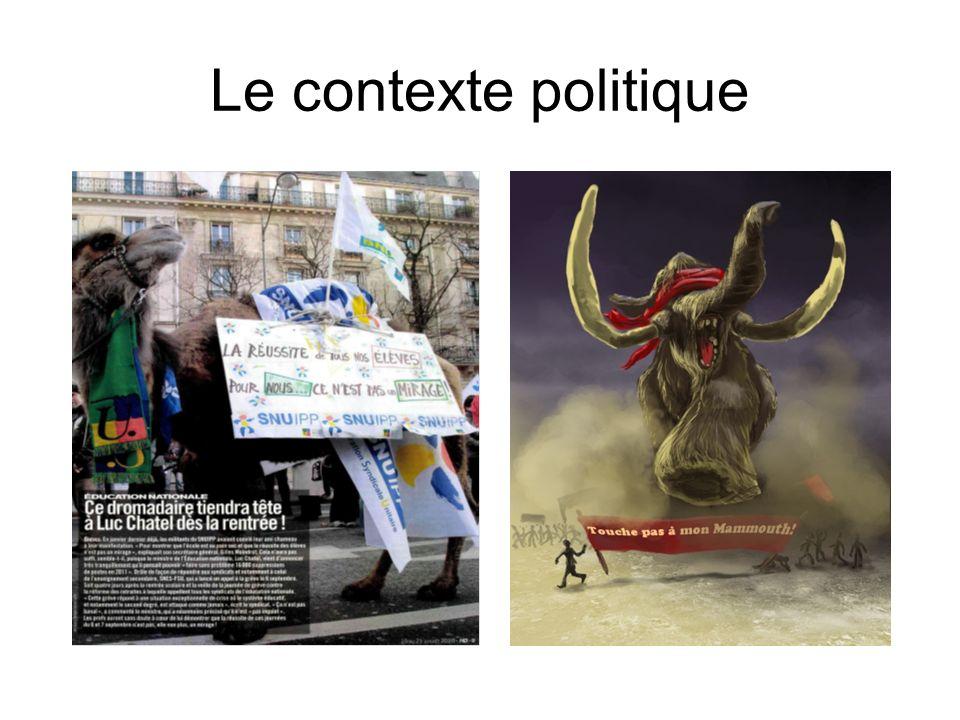 Le contexte politique