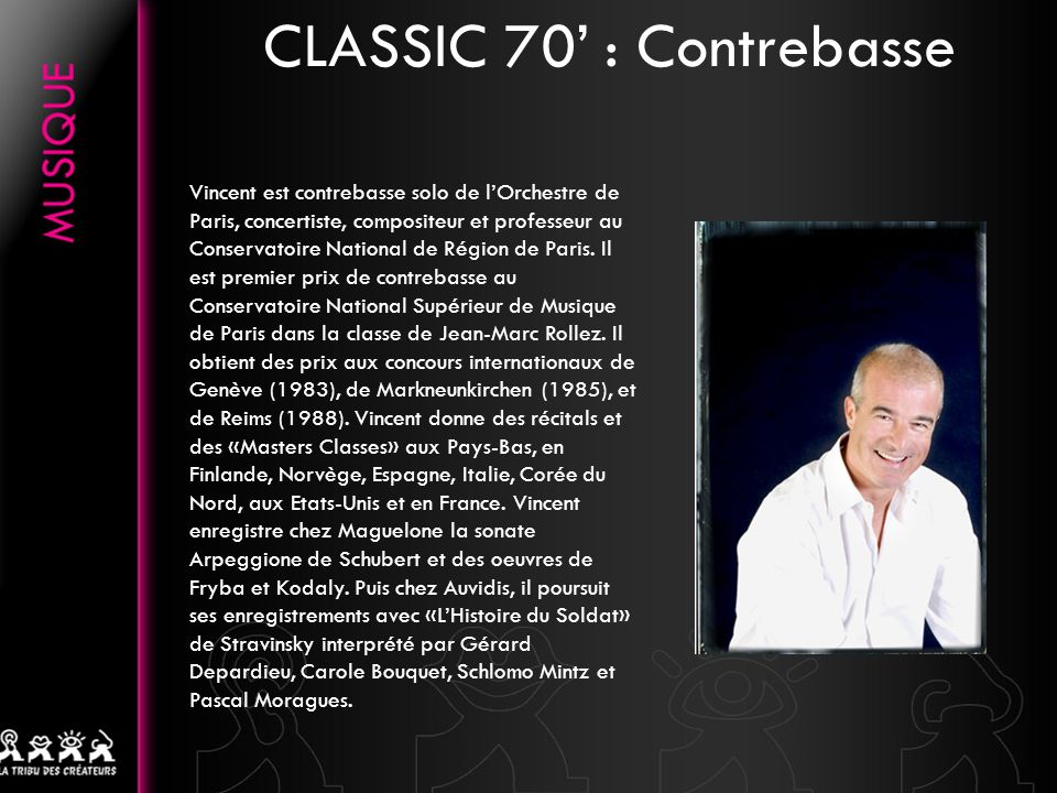 CLASSIC 70' : Contrebasse