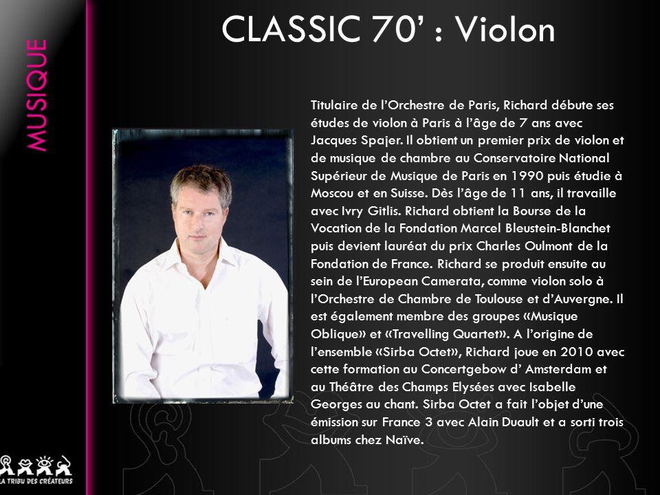 CLASSIC 70' : Violon
