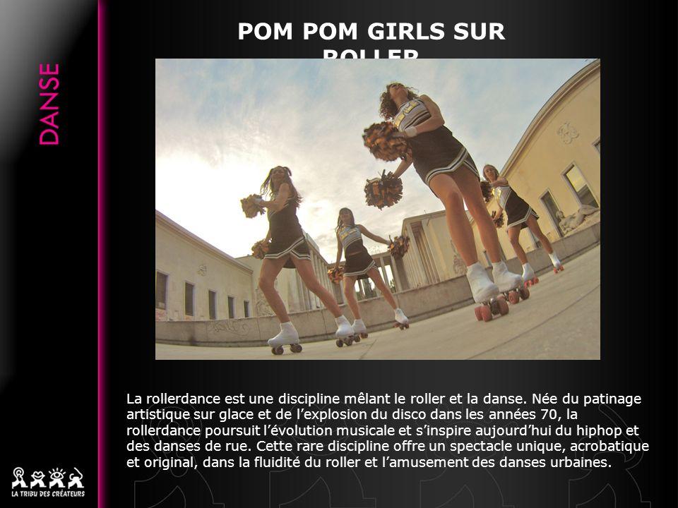 POM POM GIRLS SUR ROLLER