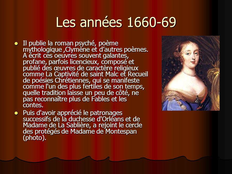Les années 1660-69
