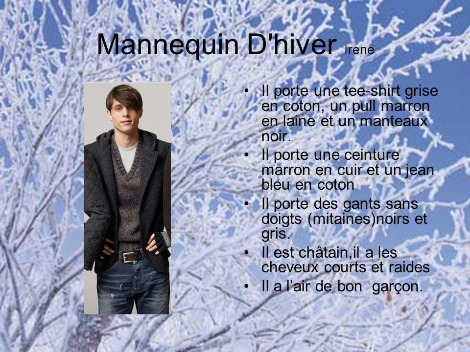 Mannequin D hiver Irene