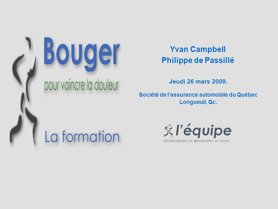 Yvan Campbell Philippe de Passillé