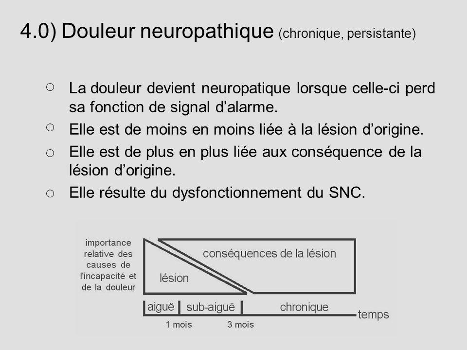 4.0) Douleur neuropathique (chronique, persistante)