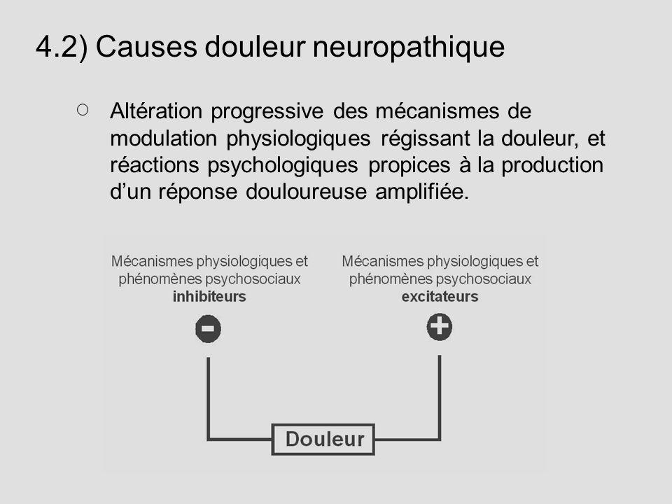 4.2) Causes douleur neuropathique