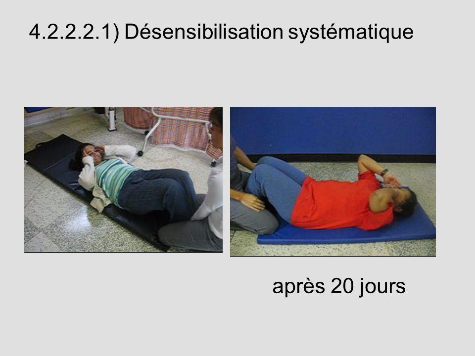 4.2.2.2.1) Désensibilisation systématique