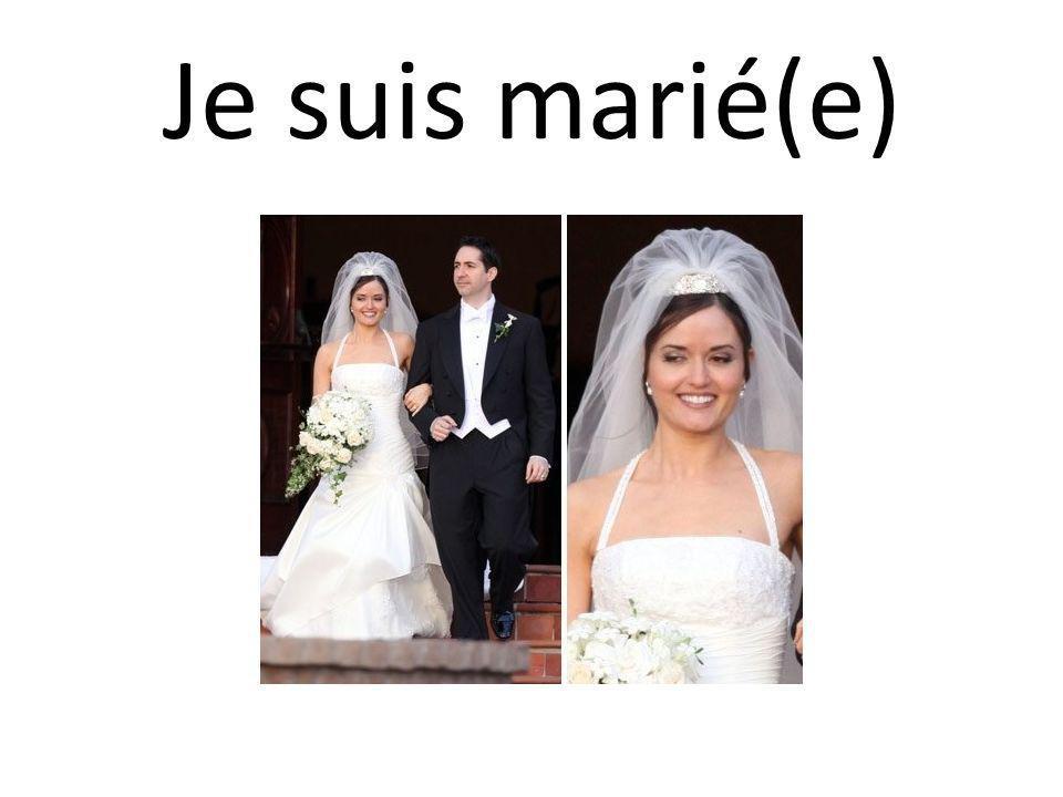 Je suis marié(e)
