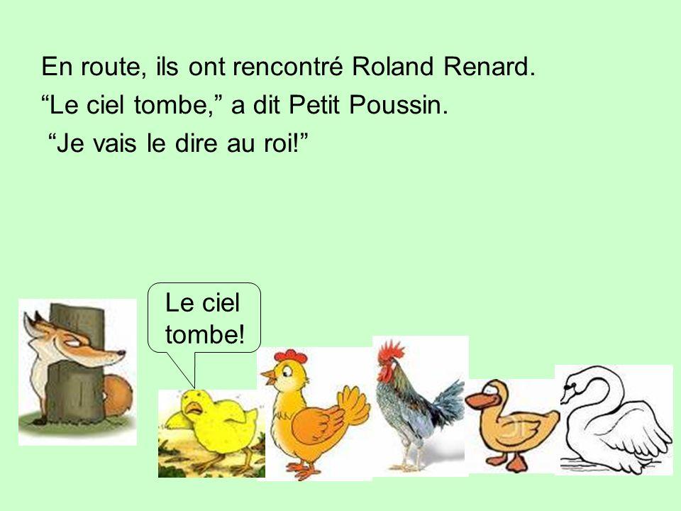 En route, ils ont rencontré Roland Renard.