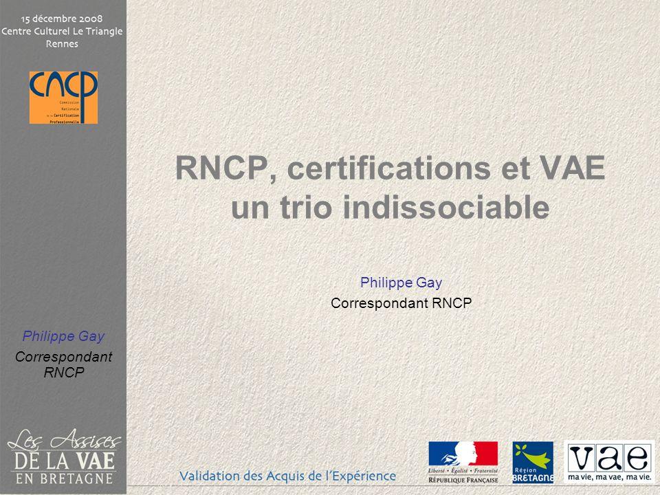 RNCP, certifications et VAE un trio indissociable