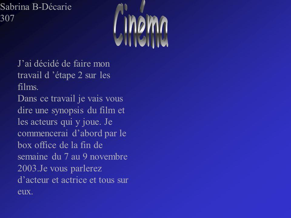 Cinéma Sabrina B-Décarie 307